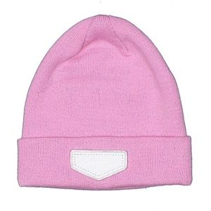 (69) givenchy classic pink beanie logo hat